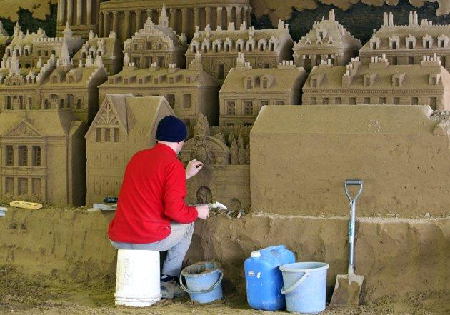 world sand art